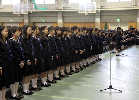 入学式   <b>学習院女子中</b>・<b>高等科</b>